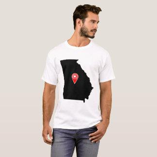 FOOTBALL LOCATION IN GEORGIA, FOOTBALL,GEORGIA T-Shirt