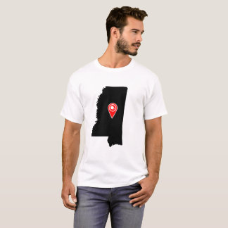 FOOTBALL LOCATION IN MISSISSIPI, PLACE, FOOTBALL, T-Shirt