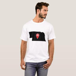 FOOTBALL LOCATION IN NEBRASKA T-Shirt