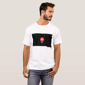 FOOTBALL LOCATION IN SOUTH DAKOTA T-Shirt