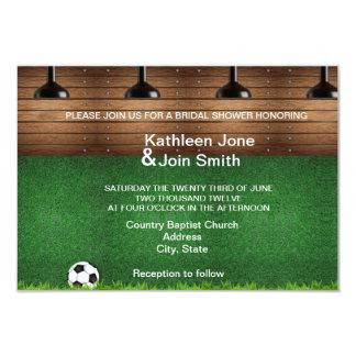 Football Love Story RSVP Invitation