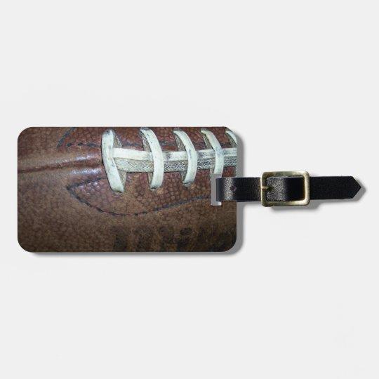 Football Luggage Tag
