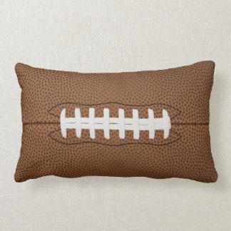 football lumbar pillow