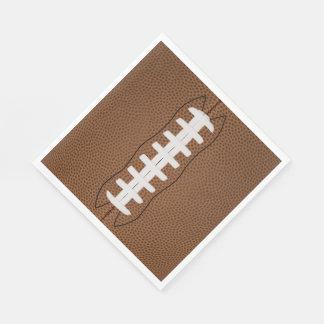 football luncheon napkin