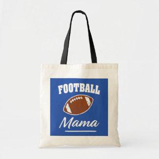 Football Mama funny saying bag