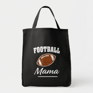 Football Mama funny saying bag