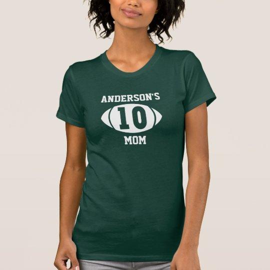 Football Mom 10 T-Shirt