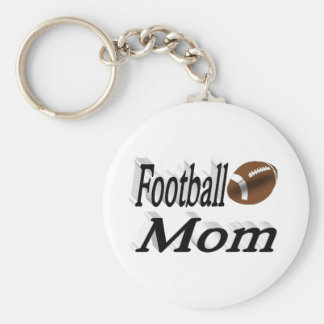 Football Mom 3D Key Chains