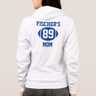 Football Mom Blue Hoodie