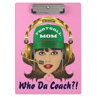 Football MOM  Customize Edit to Change Background Clipboards