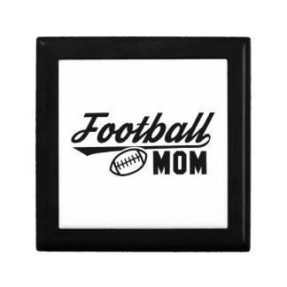 Football Mom Keepsake Box