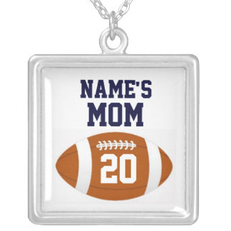 Football Mom Necklace - Personalized
