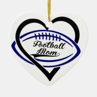 Football Mom Ornament