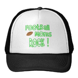 Football Moms Rock ! (green) Trucker Hat