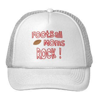 Football Moms Rock ! (red) Trucker Hat
