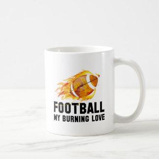 Football My Burning Love Coffee Mug