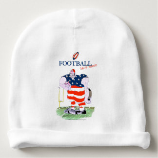 Football no prisoners, tony fernandes baby beanie