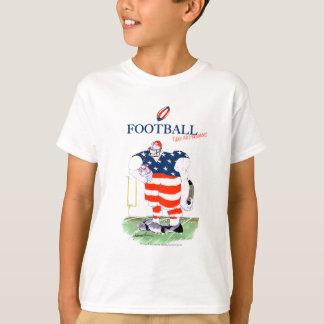 Football no prisoners, tony fernandes T-Shirt