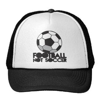 FOOTBALL not soccer! ball shirt Hat