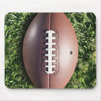 Football on Grass Mouse Pad