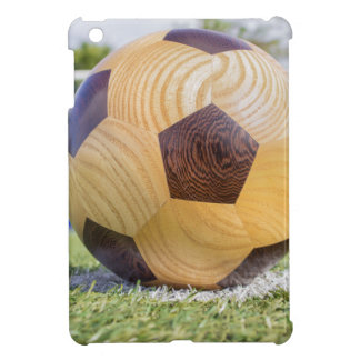 football on penalty spot with goal iPad mini covers