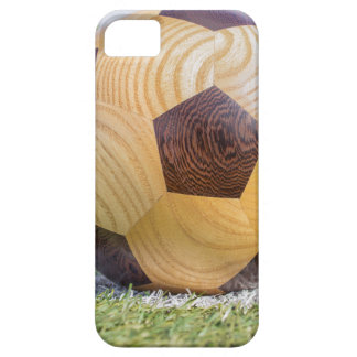 football on penalty spot with goal iPhone 5 covers