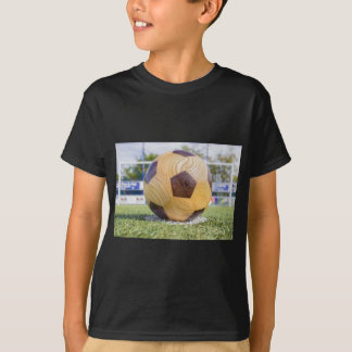 football on penalty spot with goal T-Shirt