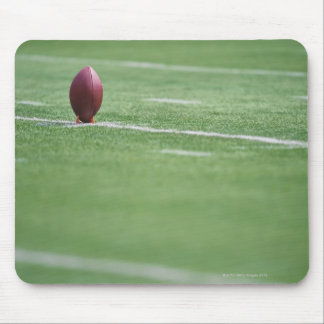 Football on Tee Mouse Pad