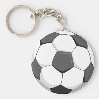 Football or Soccer ball Keychain