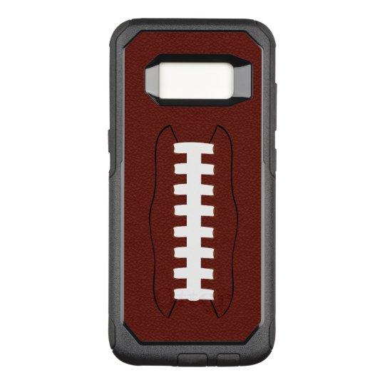 Football OtterBox Commuter Samsung Galaxy S8 Case