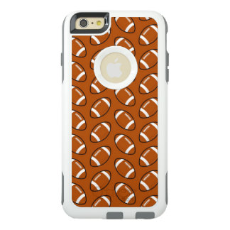 Football Pattern iPhone 6 Plus Otterbox Case