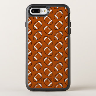 Football Pattern iPhone 7 Plus Otterbox Case