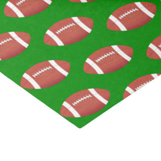 Football Pattern Tissue Paper