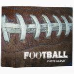 Football Photo Album Vinyl Binder