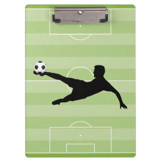 Football pitch clipboard