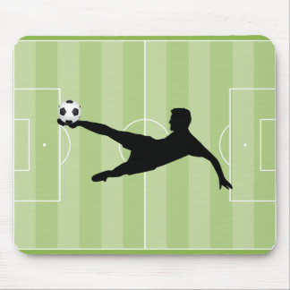 Football pitch mouse pad