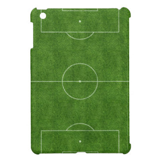football pitch soccer footy grass design iPad mini case