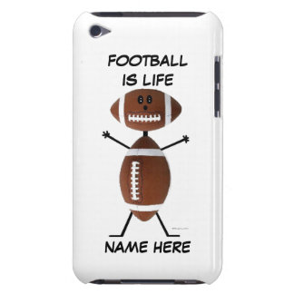 Football Player Cartoon iPod Touch Case