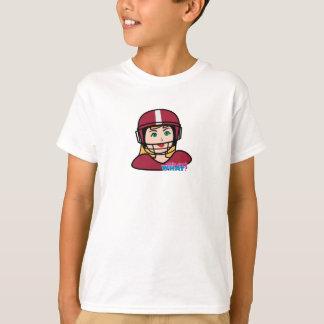 Football Player Girl T-Shirt