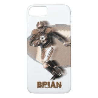 Football player Iphone case. iPhone 7 Case