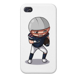 Football player (iPhone) iPhone 4 Covers