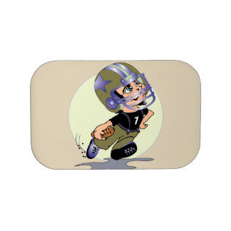 FOOTBALL PLAYER LUNCH BOX Extra Faceplate Inserts