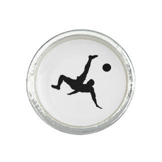 Football player photo ring
