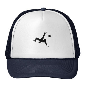 Football player trucker hat