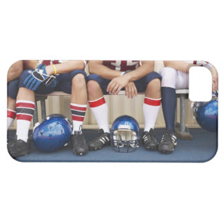 Football Players on Bench 2 iPhone 5 Cover