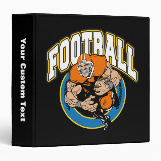 Football Running Back 3 Ring Binder
