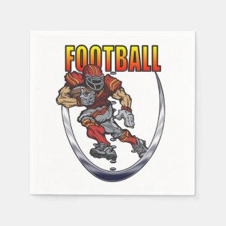 Football running back napkin