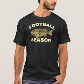 FOOTBALL SEASON BASS FISHING T-Shirt