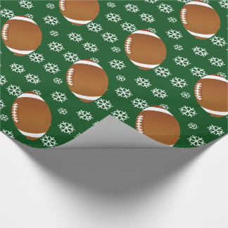Football SnowFlake Wrapping paper. Wrapping Paper