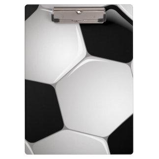 Football Soccer Ball Clipboard